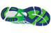 ASICS Gel DS Trainer 17 vert neon blanc bleu